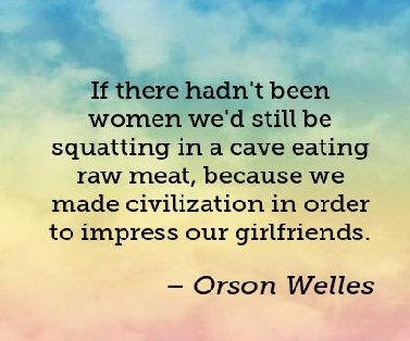 Quotes About Dating by Orson Welles