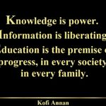Quotes About Family by Kofi Annan