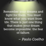 Quotes About Fear by Paulo Coelho