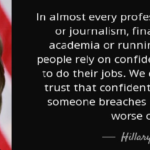 Quotes About Finance by Hillary Clinton