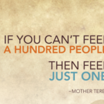 Quotes About Food by Mother Teresa