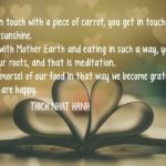 Quotes About Food by Thich Nhat Hanh