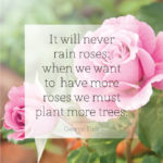 Quotes About Gardening by George Eliot