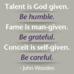 Quotes About God by John Wooden