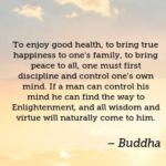 Quotes About Good by Buddha