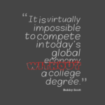Quotes About Graduation by Bobby Scott