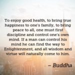 Quotes About Health by Buddha