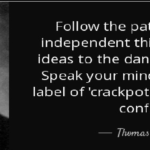 Quotes About Independence by Thomas J. Watson