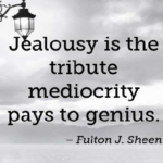 Quotes About Jealousy by Fulton J. Sheen