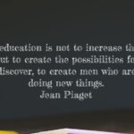 Quotes About Knowledge by Jean Piaget