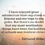 Quotes About Medical by Edmund Hillary