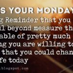 Quotes About Monday Motivation Twitter