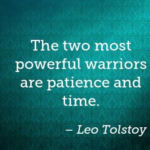 Quotes About Patience by  Leo Tolstoy