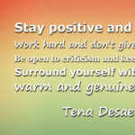 Quotes About Positive by Tena Desae