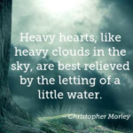 Quotes About Sad by Christopher Morley