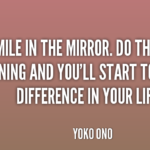 Quotes About Smile by Yoko Ono