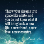 Quotes About Space by Anais Nin
