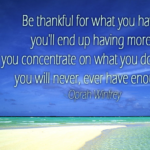 Quotes About Thanksgiving by Oprah Winfrey