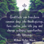 Quotes About Thanksgiving by William Arthur Ward