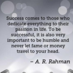 Quotes About Travel by A. R. Rahman