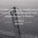 Quotes About Travel by George A. Moore