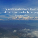 Quotes About Travel by Saint Augustine