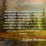 Quotes About Trust by Joyce Meyer