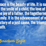 Quotes About Truth by Menachem Begin