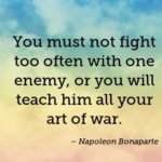 Quotes About War by Napoleon Bonaparte