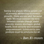 Quotes About Women by  Ban Ki-moon