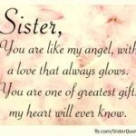 Quotes For Beautiful Sister Facebook