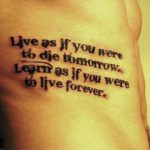 Quotes about Strength Tattoos For Boys