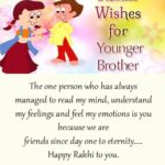 Raksha Bandhan Wishes For Younger Brother Facebook