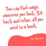 Reading Quotes for Kids Dr Seuss