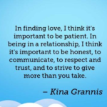 Relationship Quotes by Kina Grannis