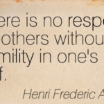 Respect Quotes by Henri Frederic Amiel