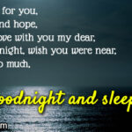 Romantic Good Night Message To My Love