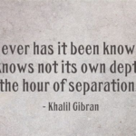 Romantic Quotes by Khalil Gibran