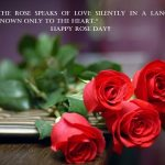 Rose Day 2018 Quotes