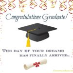 Saying Congratulations On Graduation