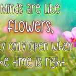Sayings About Flowers And Life