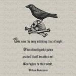 Shakespeare Halloween Quotes