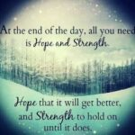 Short Quotes About Hope And Strength