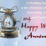 Silver Wedding Anniversary Wishes Facebook