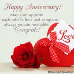Simple Anniversary Wishes Pinterest
