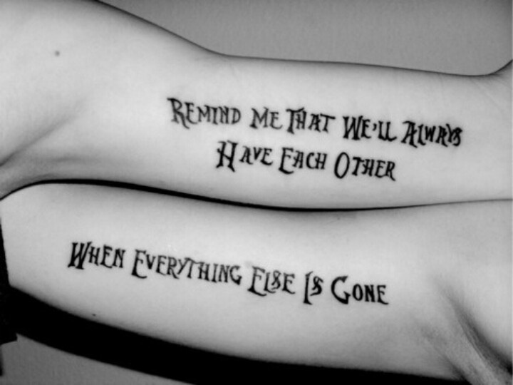 Sisters Quotes Tattoos – Upload Mega Quotes