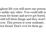 Soulmate Friend Quotes