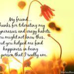 Special Thanks Message To Friends Twitter