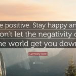 Stay Happy And Positive Quotes Twitter