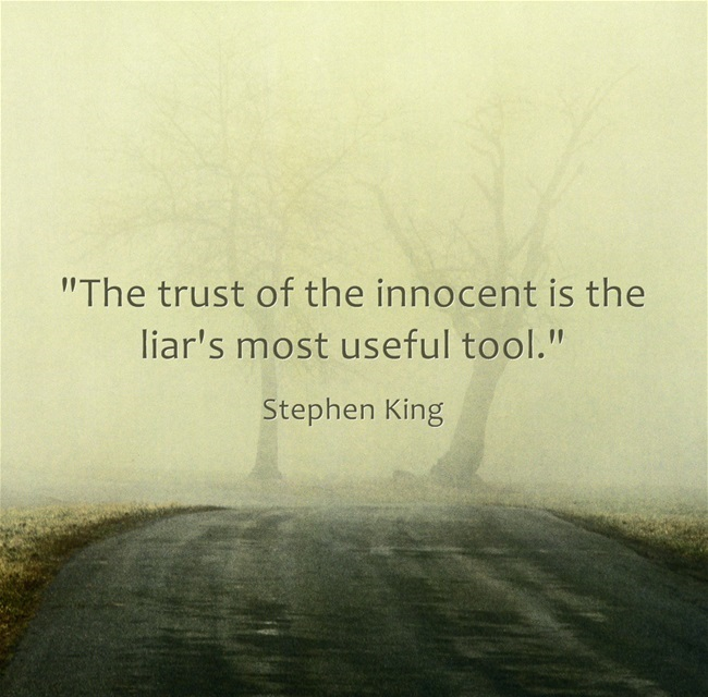 Stephen King Quotes About Trust